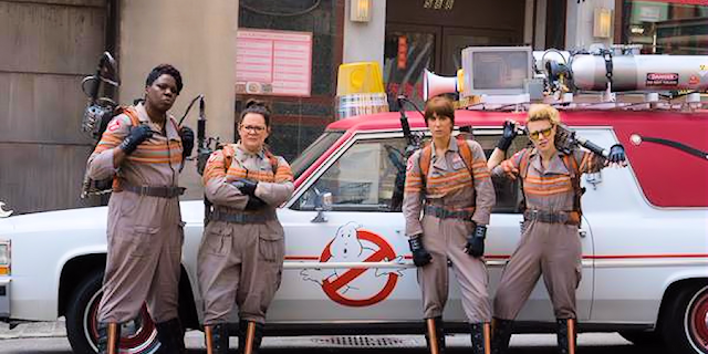 Ghostbusters 2016 American Comedy Film