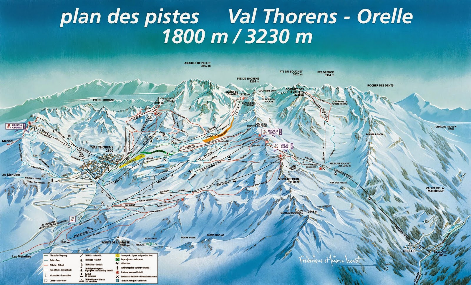 Domaine skiable Val Thorens