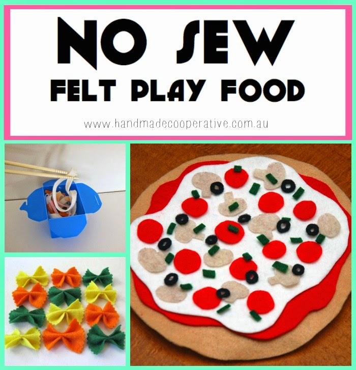 No Sew Felt Play Food