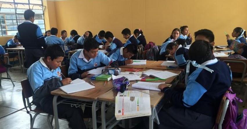 Estudiantes que no aprueben con «A» repiten el año, según la nueva escala de calificación en las libretas escolares - MINEDU - www.minedu.gob.pe