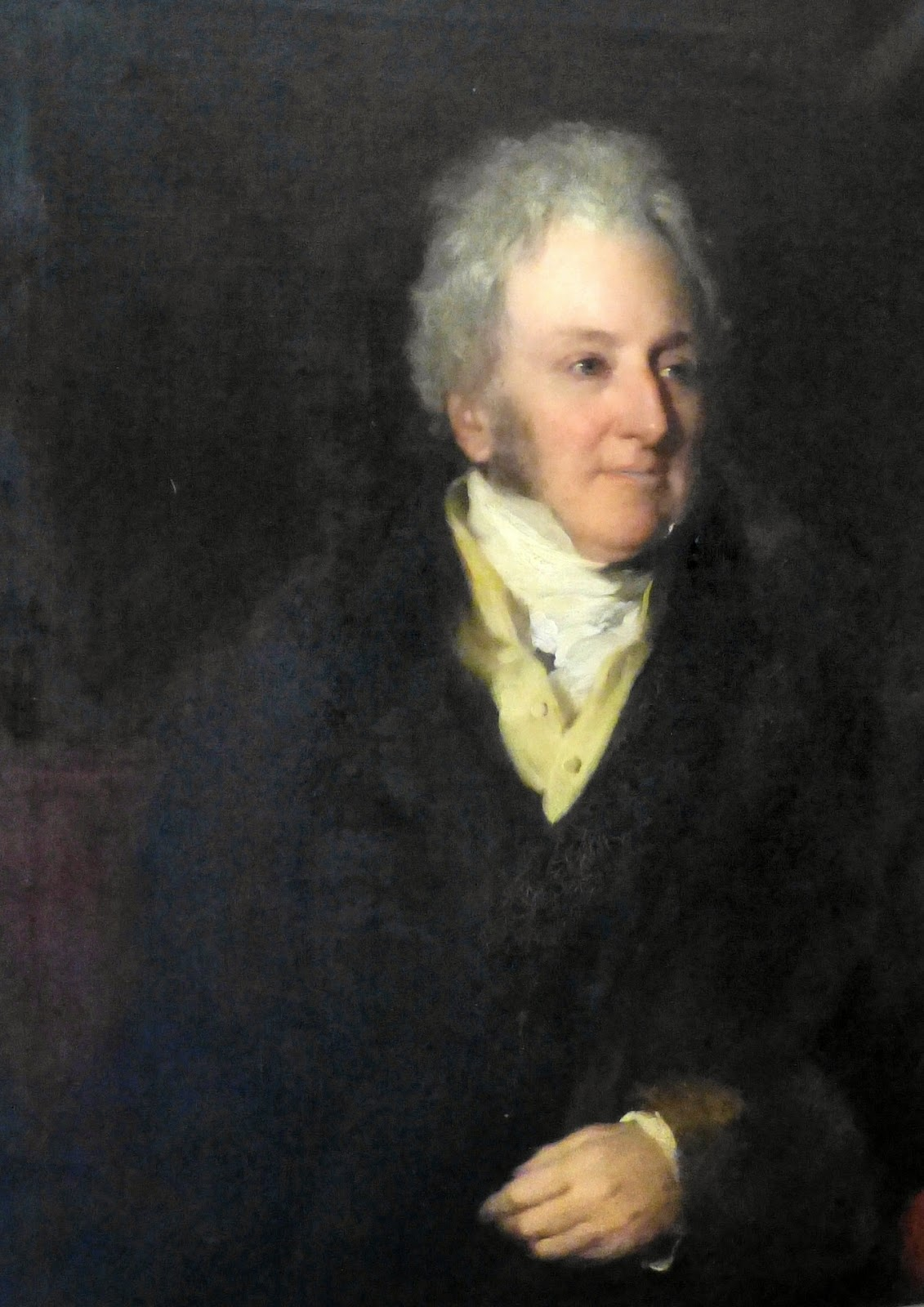John Parker, 1st Earl of Morley  by Frederick Richard Say (1830)