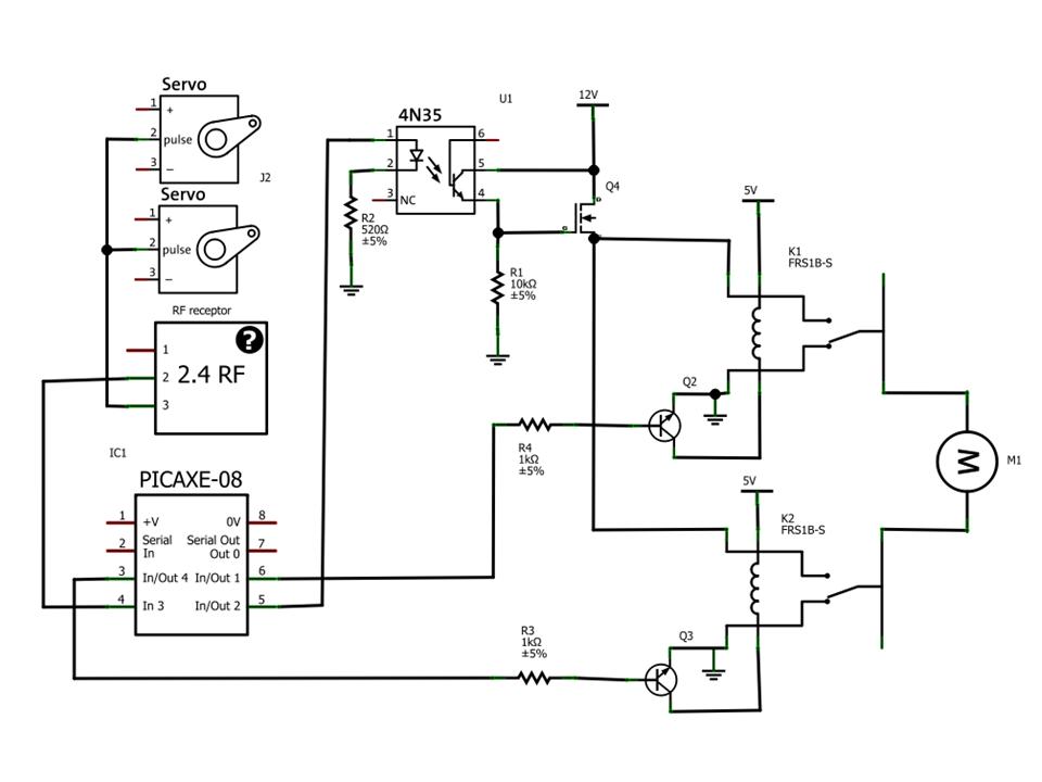 tecnomelque  esc com rel u00e9s e controle remoto 2 4 ghz em