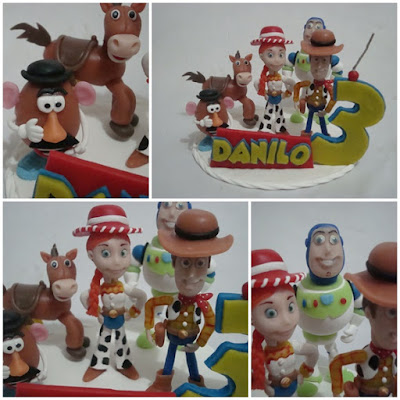 Toy Story em biscuit