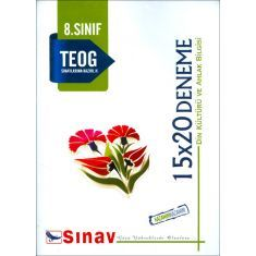 Sınav 8.Sınıf TEOG Din Kültürü ve Ahlak Bilgisi 15x20 Deneme