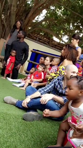 Tiwa Savage & Husband see their Son off to  School- photos