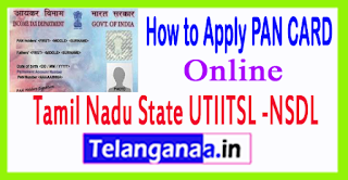 How to Apply PAN CARD Online in Tamil Nadu State