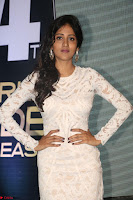 Chandini Chowdary in white Tight dress at Shamanthakamani pre release function ~  Exclusive 028.JPG