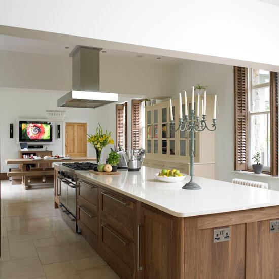 Walnut Kitchen Designs: New Home Interior Design: Take A Tour Of This Glamorous