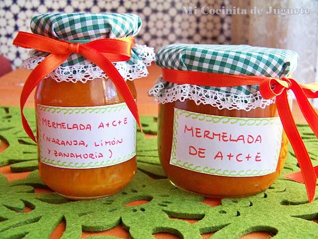 Mermelada de Naranja, Zanahoria y Limón (A+C+E)