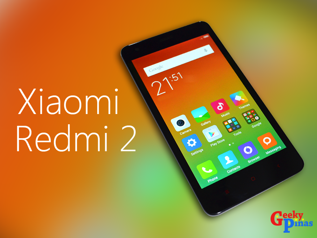Xiaomi Redmi 2 On Sale! Down To Just PHP 5,499!