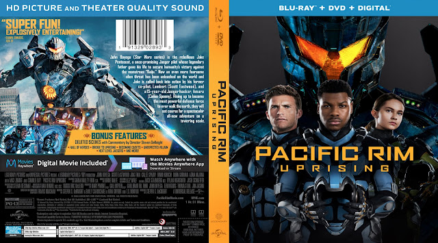 Pacific Rim Uprising (scan) Bluray Cover
