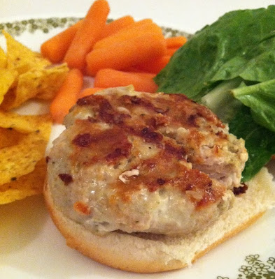Turkey Burgers that actually taste good - ranch seasoning, cheese, and turkey. So good!