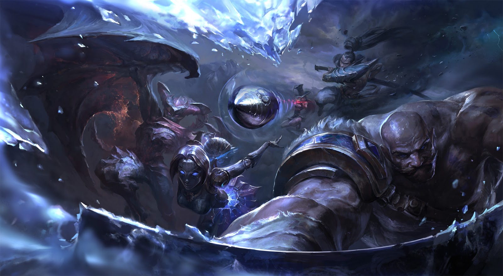 Image result for all lol champions 2016