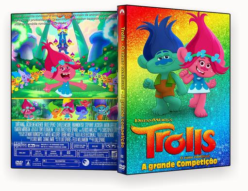 CAPA DVD – Trolls O Ritmo Continua! A Grande Competição – ISO