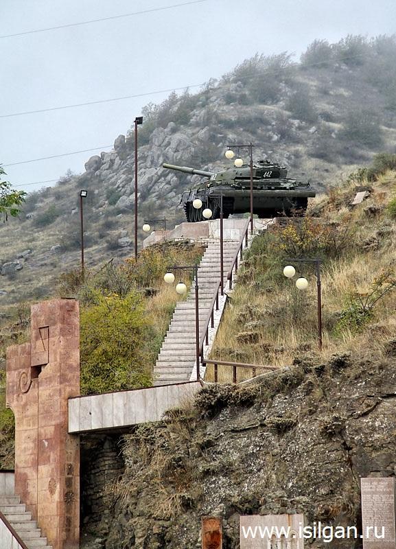 Военные памятники. Республика Арцах