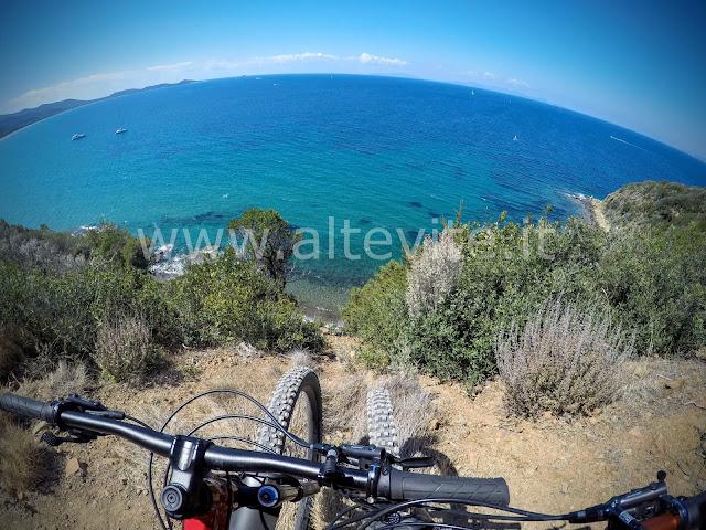 Punta Ala Cala Civette MTB Toscana Maremma