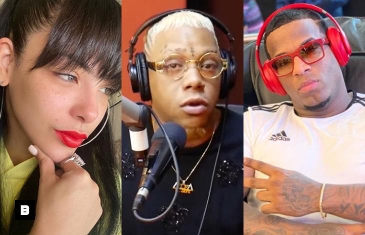 """Video: Yomel """"El Meloso"""" pide cacao a Sandra Berrocal y Crazy Design"""