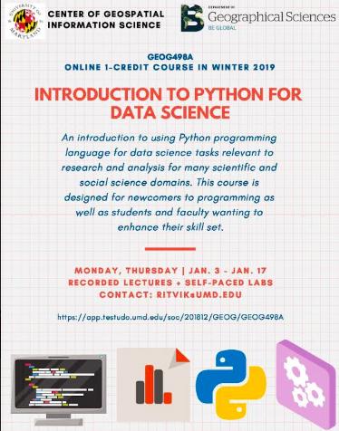 ENST Internship & Job News: Additional Winter 2019 Courses