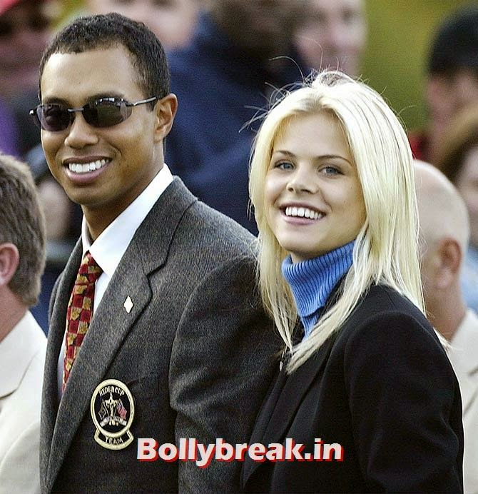 Tiger Woods and Elin Nordegren, List of Sports star break-ups Pictures - Cricket, Tennis, Golf, Basketball