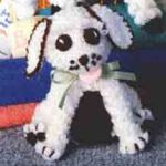 patron gratis perro amigurumi | free amigurumi pattern dog