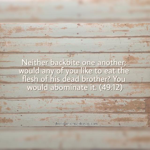 hadith-backbitting