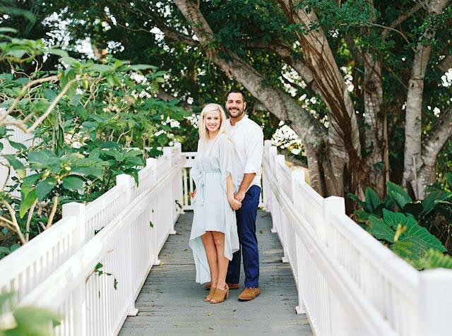 engaged on bridge