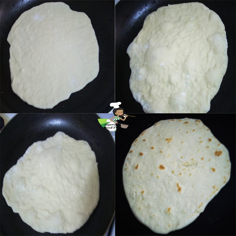 Homemade Flour Tortilla Shawarma Bread /Shawarma Wrap
