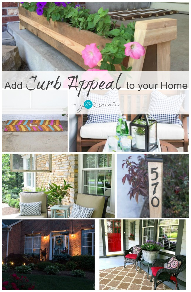 Easy Ways to add Curb Appeal to your Home, MyLove2Create