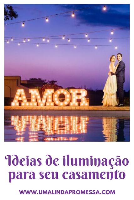 Dicas para a iluminação do seu casamento