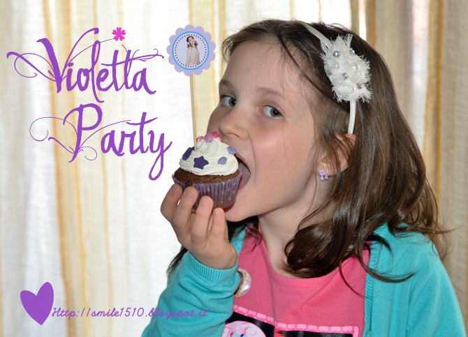 Festa a tema Violetta