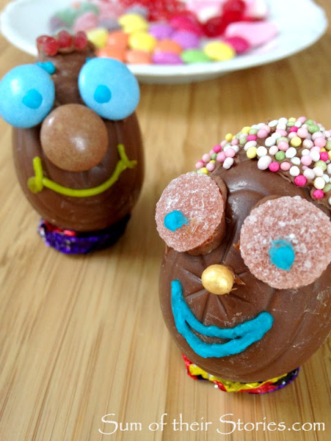Easter egg kids activity idea
