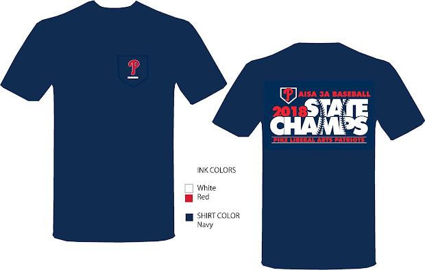 Pike Patriots State Championship T-shirts