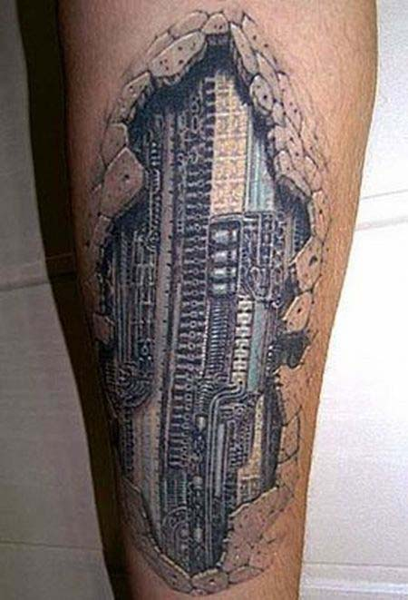 3D Tattoo on Forearms | Tattoos Photo Gallery