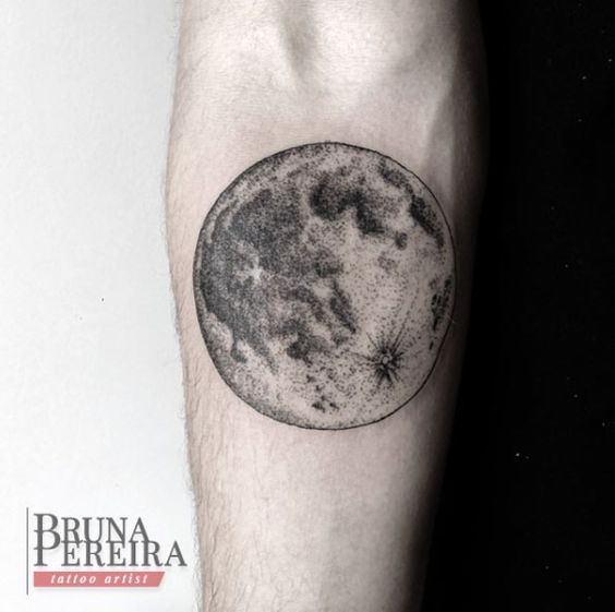 Lovely Moon Tattoos For Women and Men