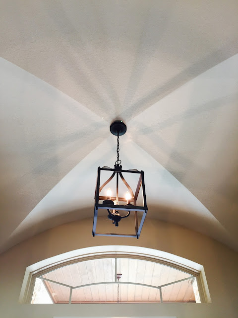 Groin Vault ceiling by Kurk Homes