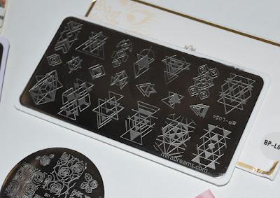 Les Stamping Plates BornPrettyStore BPL054
