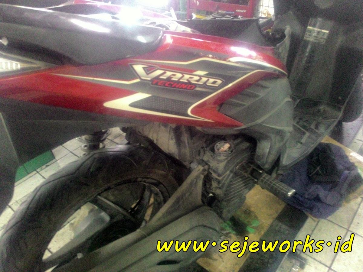 Penyebab Honda Vario 110 Berat Atau Kurang Tenaga