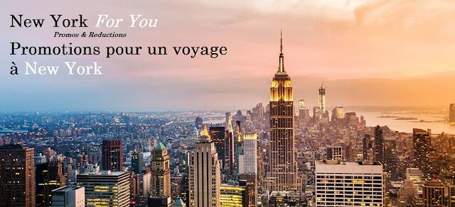 Promos voyage New York