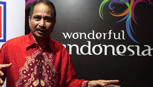 Mentri Pariwisata Arief Yahya Lounching Tour de Singkarak 2016 Malam Ini Di Gedung Sapta Pesona.