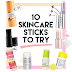 10 Skin Care Sticks You Have To Try