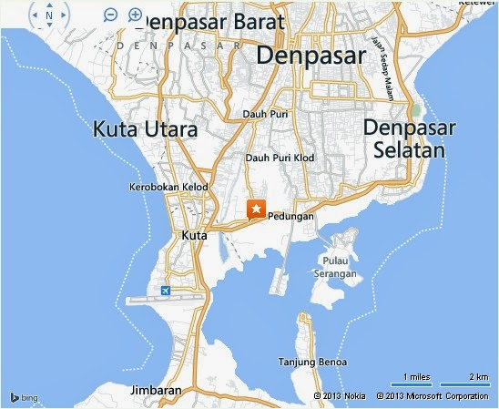Pura Tanah Kilap Bali Location Map,Location Map of Pura Tanah Kilap Bali,Pura Tanah Kilap Bali accommodation destinations attractions hotels map reviews photos pictures