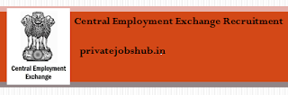 Central Employment Exchange Recruitment