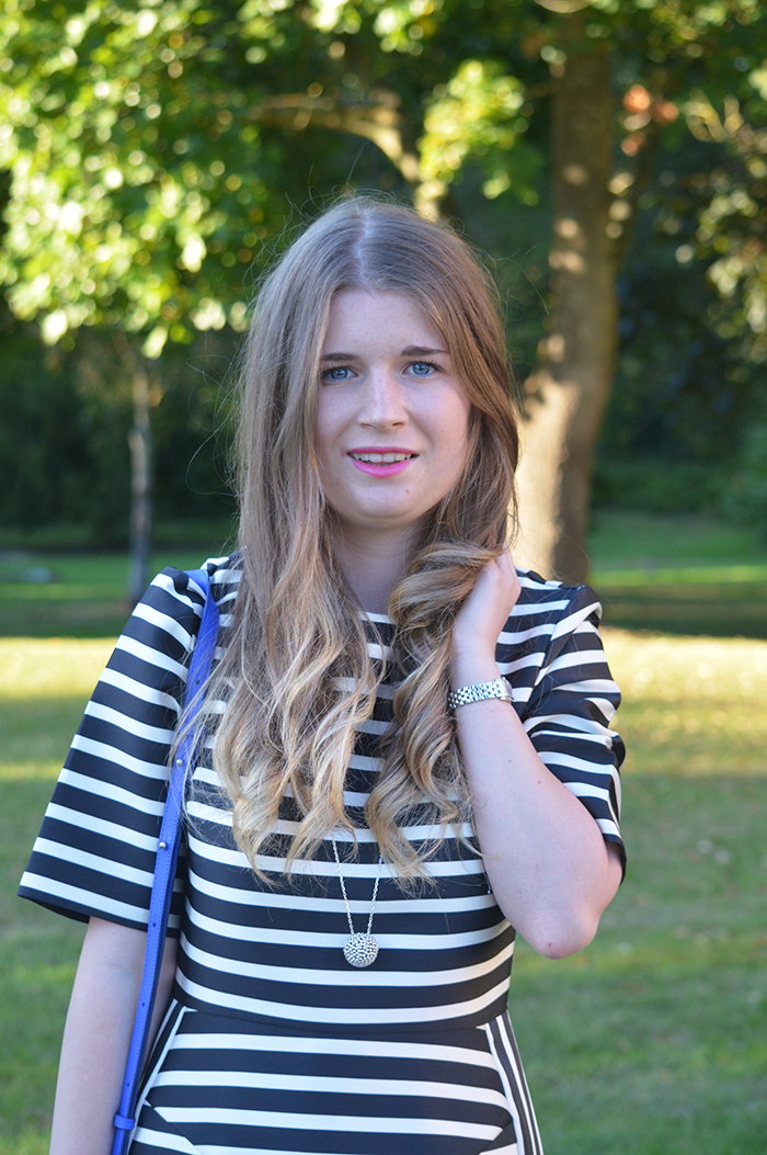 topshop stripe dress fashion bloggers