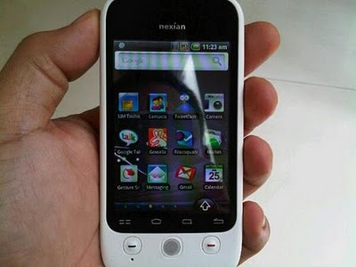 product smartphone nexian journey nx a890
