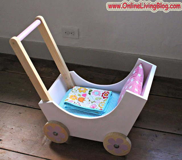 DIY Wooden Baby Pram or Stroller: Woodworking