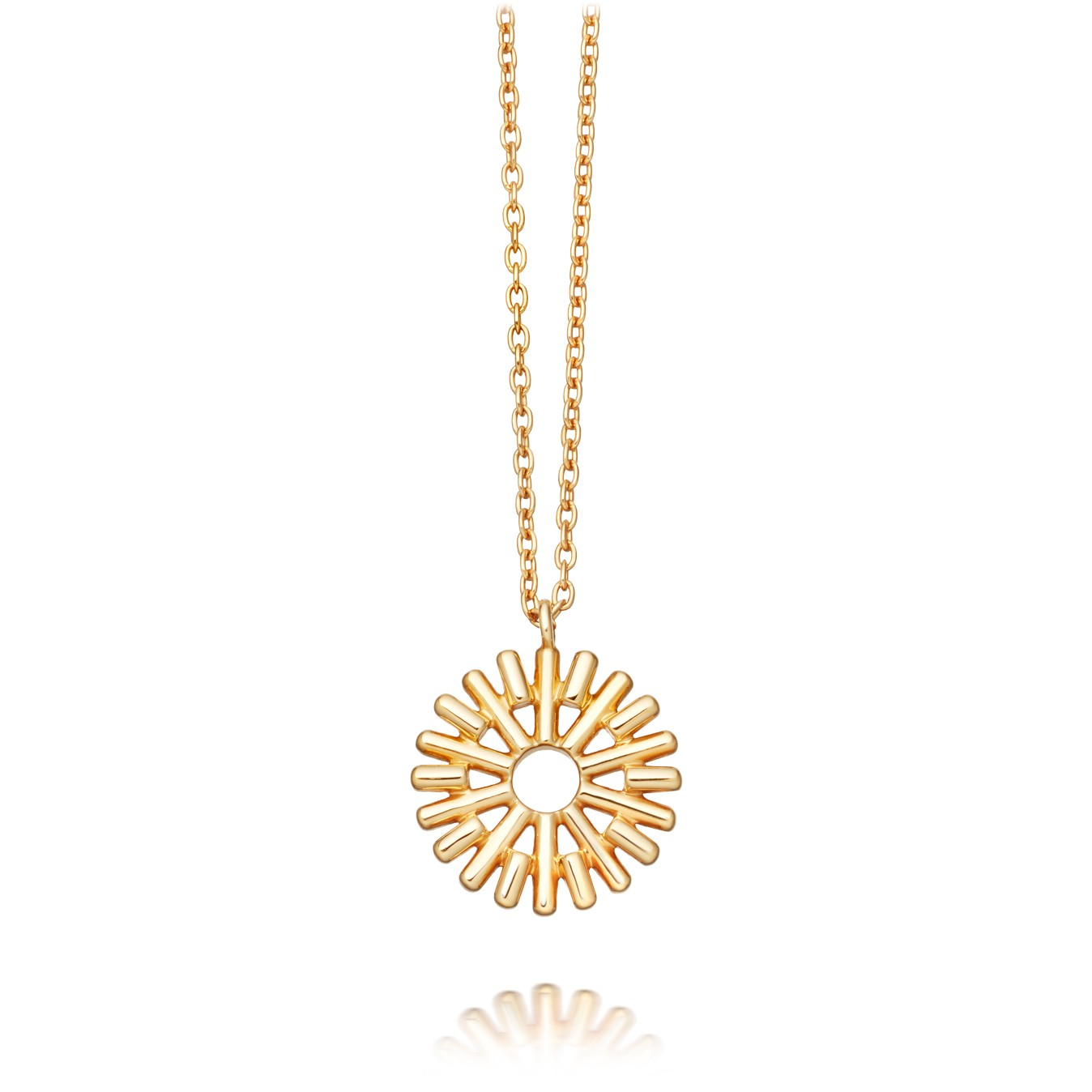 Astley Clarke Sun Ray Pendant - British luxury jewellery - UK style blog