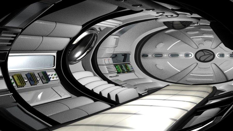 future spacecraft interior - photo #33