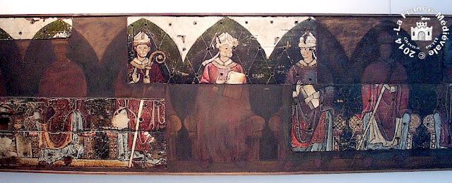 CLERMONT-FERRAND (63) - Musée Roger Quilliot : Frise des Abbés (Eglise d'Ennezat)