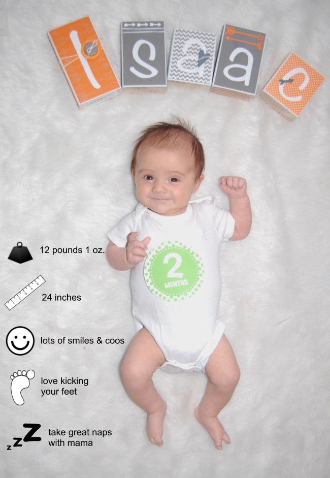 061f280b1a28 You are already two months old! Time is going way too quickly. You are just  the sweetest