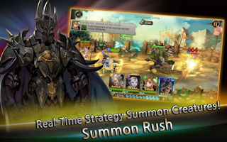 Game Summon Rush V1.0 MOD Apk ( Unlimited Money / High Damage )